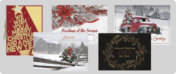 HOLIDAY &  GREETING CARDS-- BUSINESS FORMS