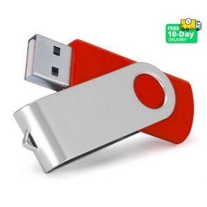 1GB Swivel USB Flash Drive Stick