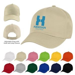5 Panel Polyester Cotton Baseball Cap